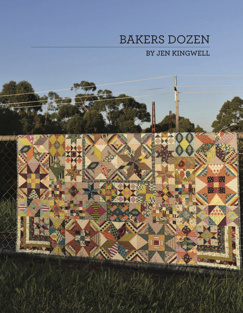 Bakers Dozen booklet by Jen Kingwell Designs - The Quilter's Bazaar