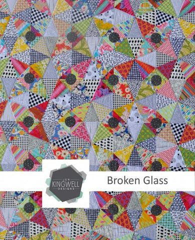 Broken Glass quilt pattern by Jen Kingwell