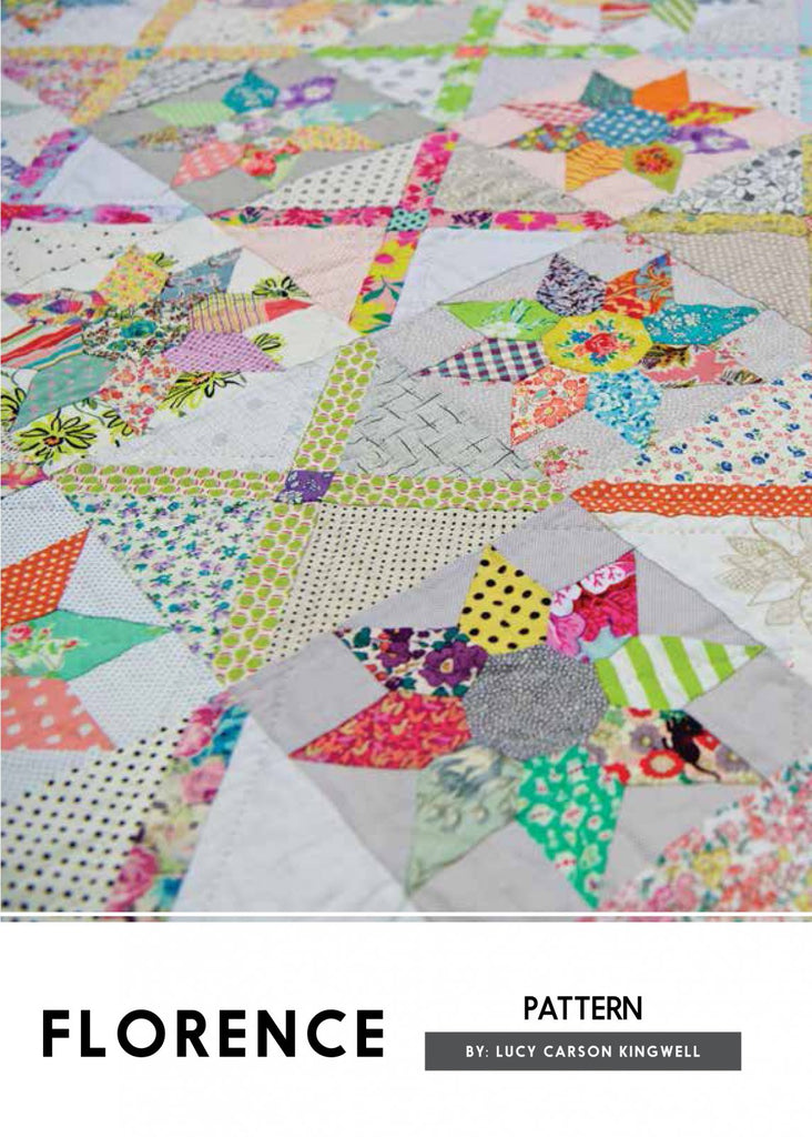Florence by Lucy Carson Kingwell - The Quilter's Bazaar