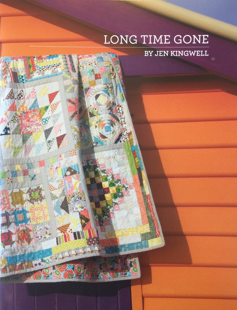 Long Time Gone booklet by Jen Kingwell - The Quilter's Bazaar