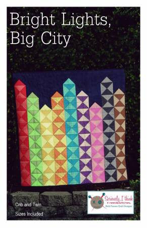 Bright Lights, Big City quilt pattern by Kelli Fannin