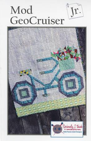 Mod GeoCruiser Jr. quilt pattern by Kelli Fannin