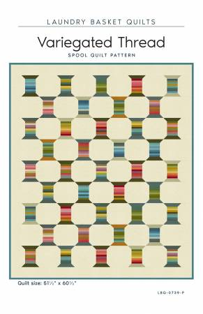 Variegated Thread quilt pattern by Edyta Sitar
