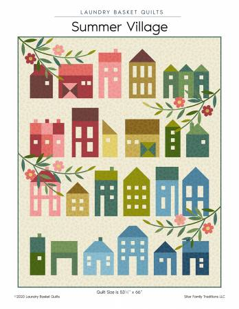 Summer Village quilt pattern by Edyta Sitar