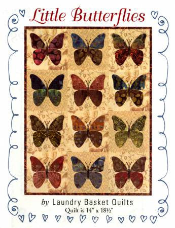 Little Butterflies quilt pattern