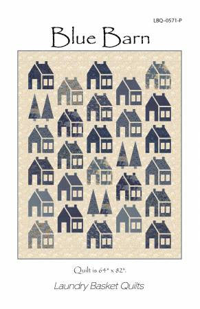 Blue Barn by Edyta Sitar - The Quilter's Bazaar
