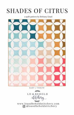 Shades of Citrus quilt pattern by Brittany Lloyd
