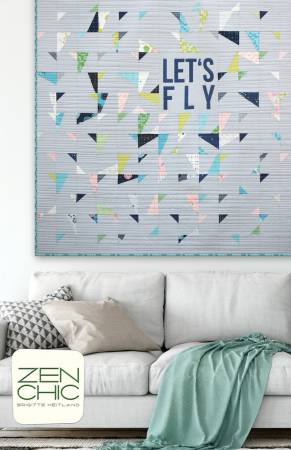 Let's Fly quilt pattern by Brigitte Heitland