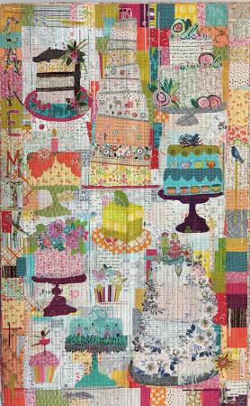Cake Mix Collage by Laura Heine - The Quilter's Bazaar