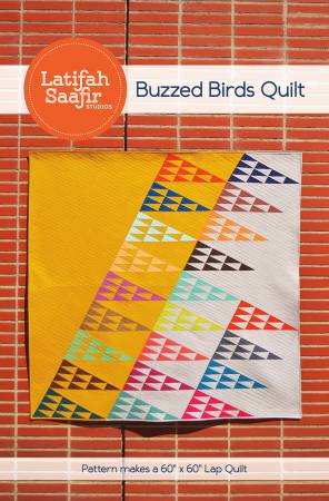 Buzzed Birds by Latifah Saafir - The Quilter's Bazaar