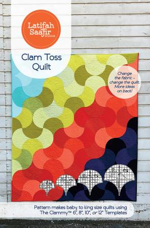 Clam Toss Quilt pattern by Latifah Saafir