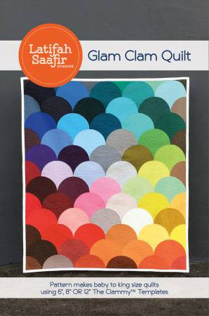 Glam Clam quilt pattern by Latifah Saafir