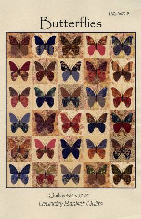Butterflies - The Quilter's Bazaar