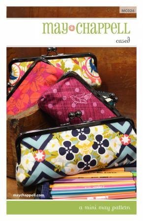 Cased bag pattern by May Chappell