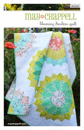 Blooming Dresden Quilt pattern - The Quilter's Bazaar
