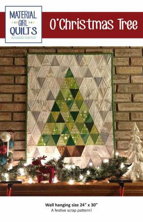O'Christmas Tree quilt pattern by Amanda Castor