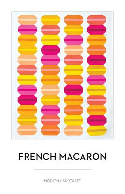 French Macaron Quilt pattern - The Quilter's Bazaar