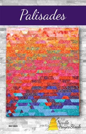 Palisades quilt pattern by Tiffany Hayes