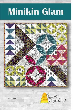 Minikin Glam quilt pattern by Tiffany Hayes