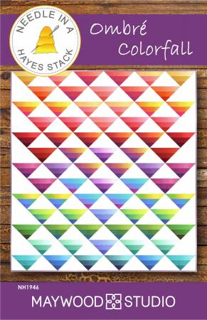Ombre Colorfall quilt pattern by Tiffany Hayes