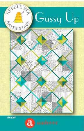 Gussy Up quilt pattern by Tiffany Hayes