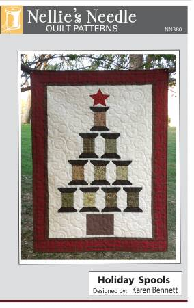 Holiday Spools quilt pattern by Karen Bennett