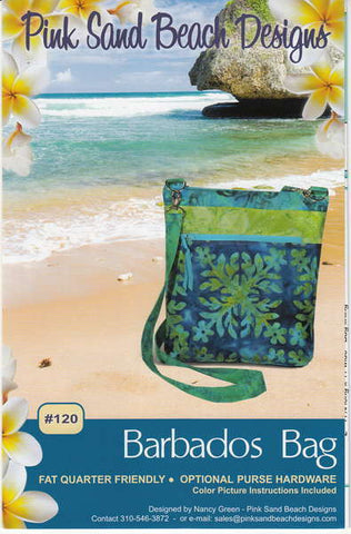 Barbados Bag pattern by Nancy Green for Pink Sand Beach Designs