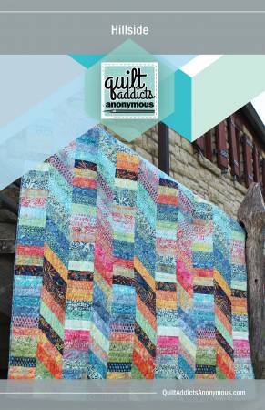 Retro Tiles Quilt Pattern from Quilt Addicts Anonymous