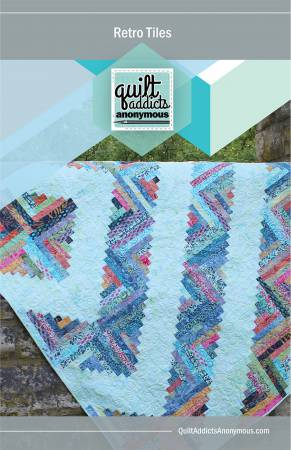 Retro Tiles quilt pattern by Stephanie Soebbing