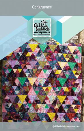 Congruence quilt pattern by Stephanie Soebbing