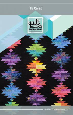 18 Carat quilt pattern by Stephanie Soebbing