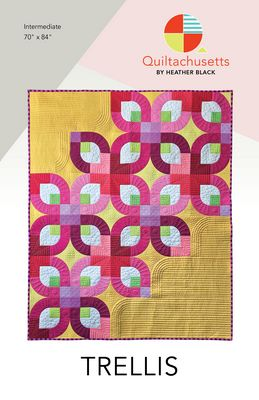 Trellis quilt pattern by Heather Black