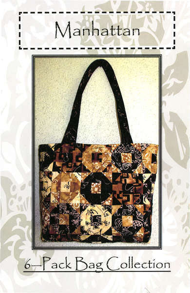 Manhattan Tote - The Quilter's Bazaar
