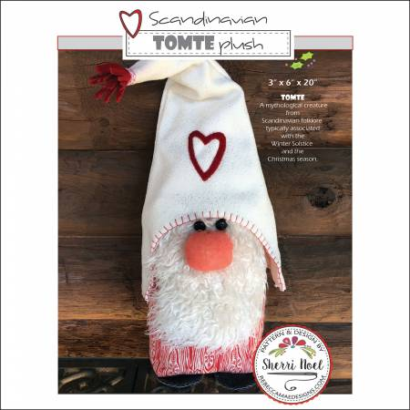 Scandanavian Tomte Plush pattern by Sherri Noel