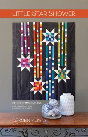 Little Star Shower quilt pattern by Robin Pickens
