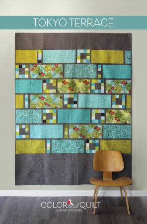 Tokyo Terrace quilt pattern by Robin Pickens