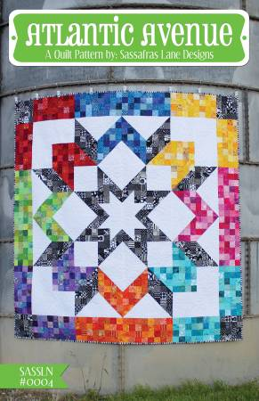 Atlantic Avenue quilt pattern by Shayla Wolf & Kristy Wolf