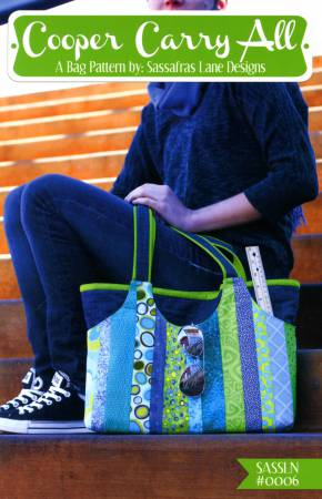 Cooper Carry All - tote bag pattern by Sassafras Lane Designs