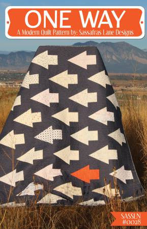 One Way quilt pattern by Shayla Wolf & Kristy Wolf