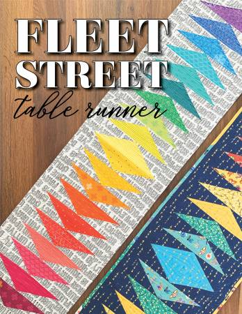 Fleet Street Table Runner quilt pattern by Shayla & Kristy Wolf