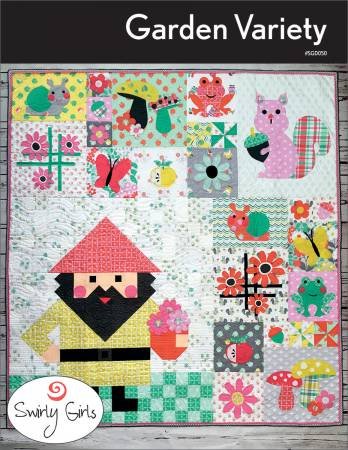 Garden Variety by Susan Emory - The Quilter's Bazaar