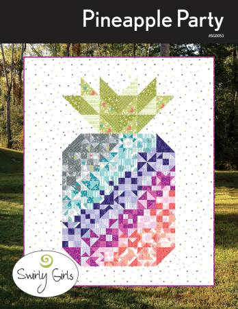 Pineapple Party quilt pattern by Susan Emory