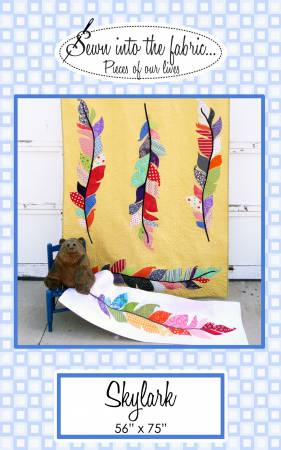 Skylark quilt pattern by Rana Heredia