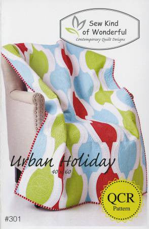 Urban Holiday quilt pattern by Helen Robinson