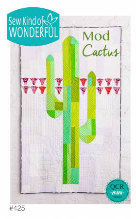 Mod Cactus quilting pattern by Helen Robinson