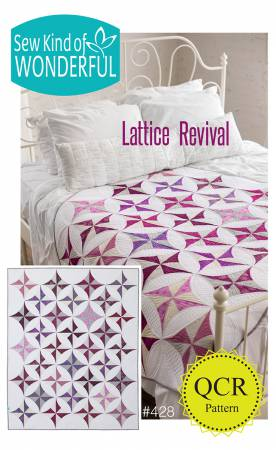 Lattice Revival quilt pattern by Jenny Pedigo