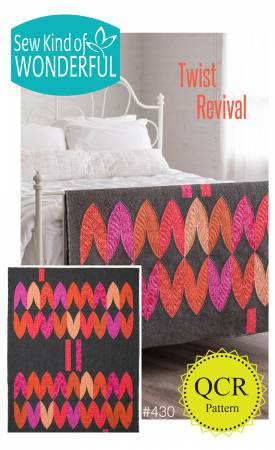 Twist Revival quilt pattern by Jenny Pedigo and Helen Robinson