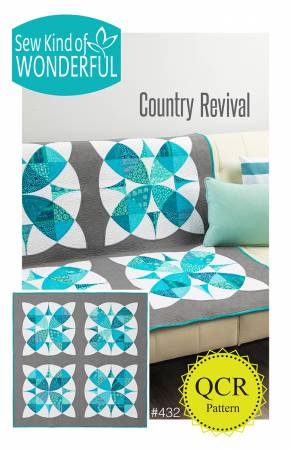 Country Revival quilt pattern by Helen Robinson - The Quilter's Bazaar
