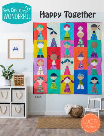 Happy Together quilt pattern booklet by Sew Kind of Wonderful