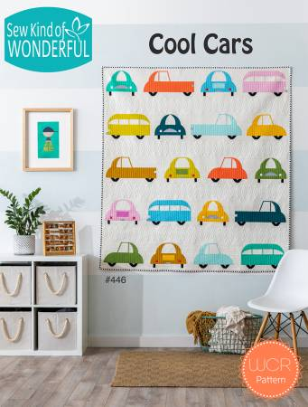 Cool Cars quilt pattern booklet by Sew Kind of Wonderful